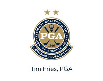 Tim Fries, PGA